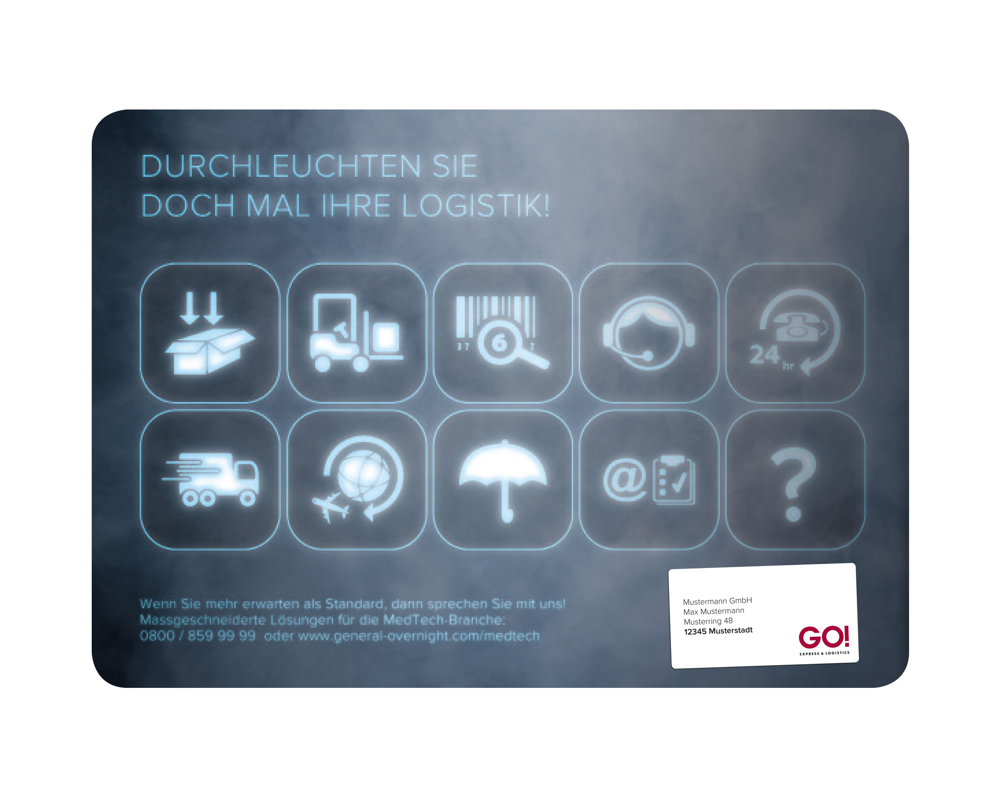 GO! Express & Logistics – Direct Mail – ‹Medizintechnik›