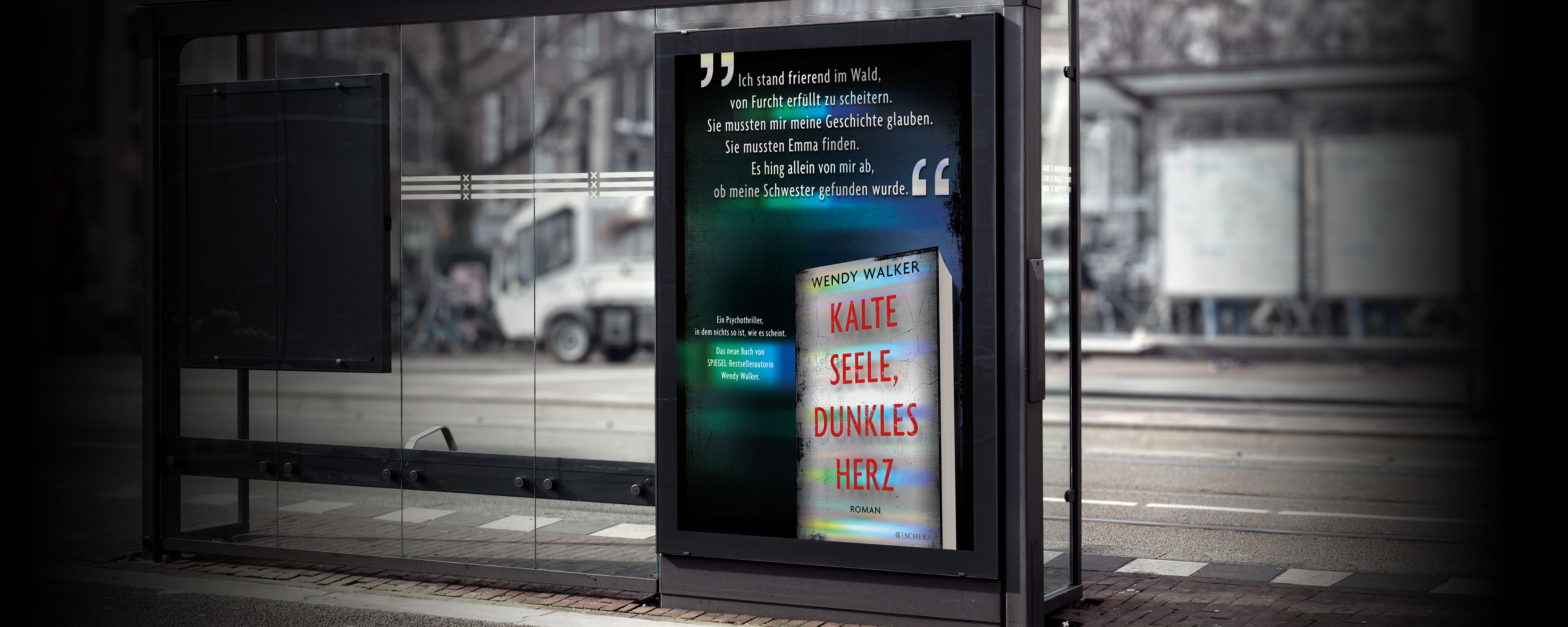 Scherz – Wendy Walker; Kalte Seele, dunkles Herz City Light Poster